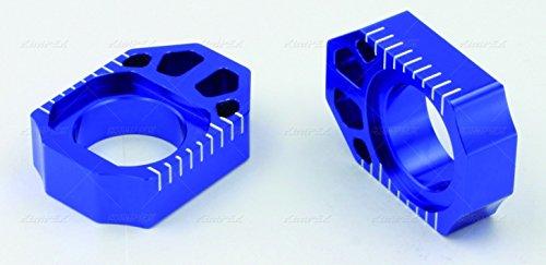 ZETA Anodized Aluminum BLUE Axle Blocks Pair ZE93-5312