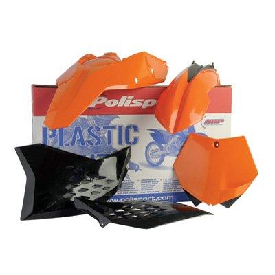 Polisport Complete Replica Plastic Kit KTM Orange for KTM 85 SX 2006-2012