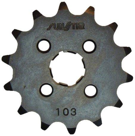 Sunstar 10313 13-Teeth 420 Chain Size Front Countershaft Sprocket