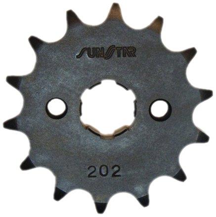 Sunstar 20215 15-Teeth 428 Chain Size Front Countershaft Sprocket
