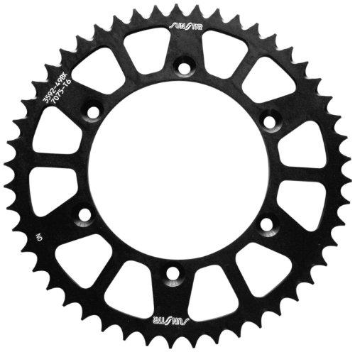 Sunstar 5-354750BK Works Triplestar Black 50-Teeth 520 Chain Size Rear Aluminum Sprocket