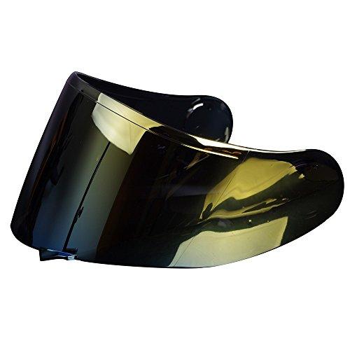 CNS-1 Aftermarket Lens Face Shield Visor for SHOEI GT-AIR NeoTec Helmet Gold
