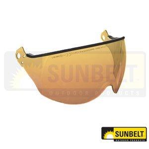 Helmet Kask Visor Gold Mirror Part No A-B1VI00002025