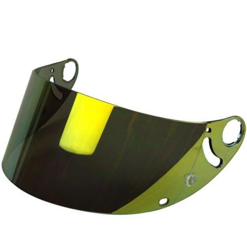 Shark Aftermarket Face Shield Visor for RSR 2 RSR2 RS2 RSX VZ32 REF Helmets Gold