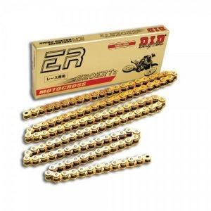 02-13 HONDA CRF450R DID 520 ERT2 Gold Chain - 120 Links GOLD