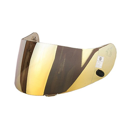 Hjc Ac-12/cl-sp/cl-15/cl-16/fs-10/is-16/cs-r1/cs-r2 Motorcycle Helmet Replacement Faceshield Mirror-coated Gold