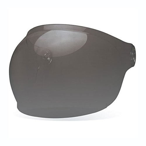 Bell Bullitt Helmet Bubble Shield Dark Smoke - Black Tab