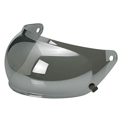 Biltwell Gringo S Helmet Bubble Shield (chrome Mirror, One Size)