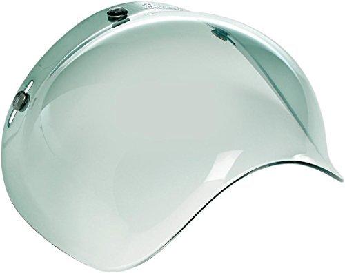 Biltwell Motorcycle Helmet Bubble Face Shield - Green Gradient