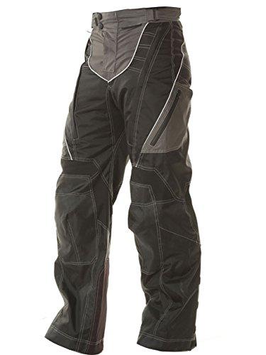 Xelement B4402 Mens Black Advanced Level-3 Tri-Tex Fabric Motorcycle Pants - 36