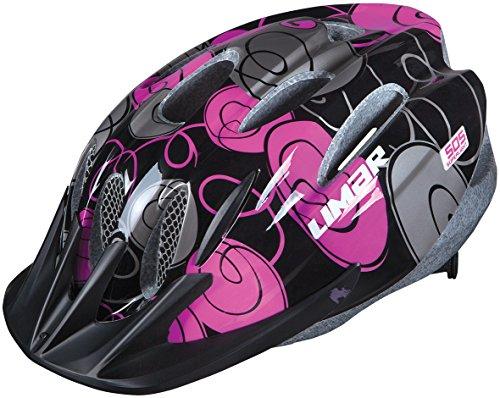 2015 Limar Boys DC505 Helmet Swirl Black Medium 52-57cm