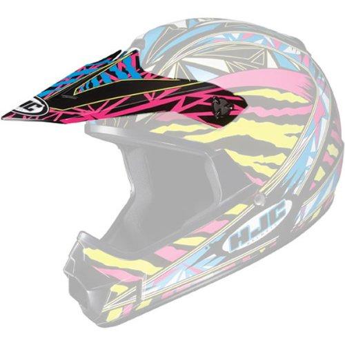 HJC Fuze Visor Youth Boys CL-XY MotoX Motorcycle Helmet Accessories - MC3  One Size Fits Most