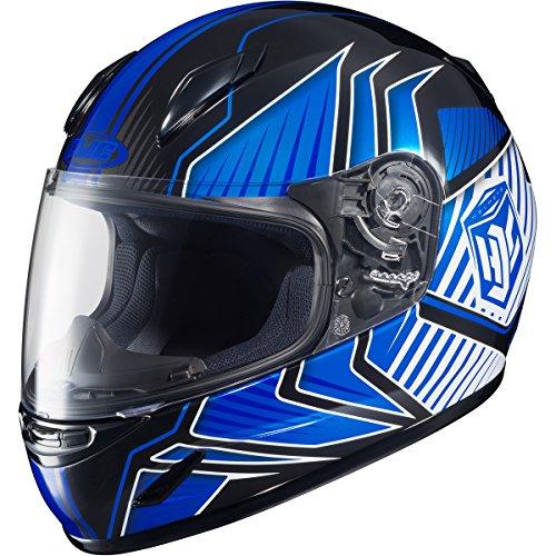 HJC Redline Youth Boys CL-Y Street Motorcycle Helmet - MC-2  Medium