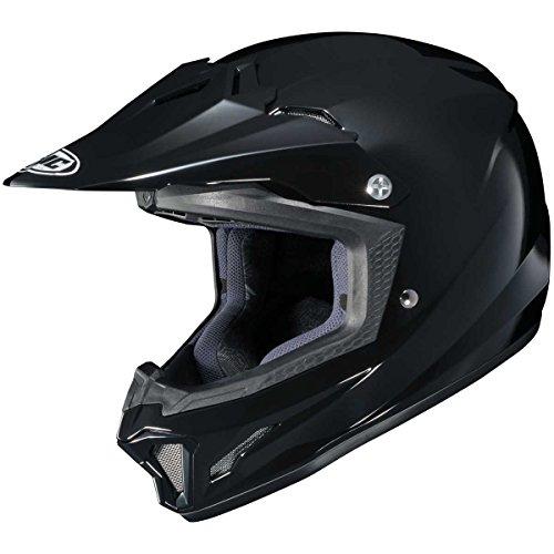 HJC Solid Youth CL-XY 2 MX Motorcycle Helmet - Black  Medium