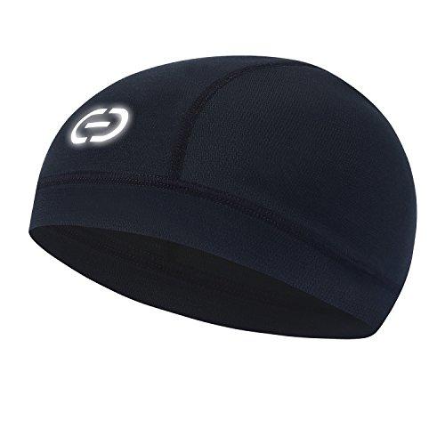 Dickee Reflective Skull Cap Summer Use Professional Helmet Liner Cycling Running Moisture Wicking Windproof Cap