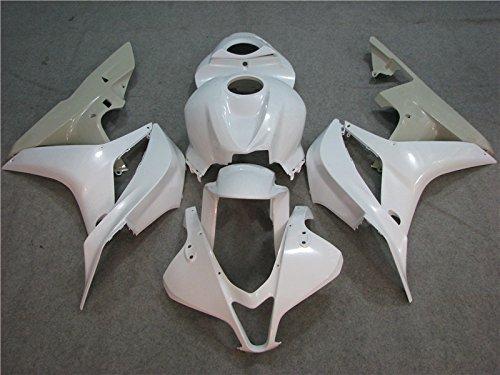 2007 2008 Injection Unpainted White CBR600RR Fairing for Honda Motorcycle Bodywork