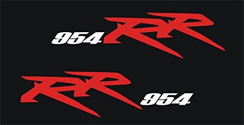 2002-06 Honda CBR 954RR Rear Tail Fairing Decal Set