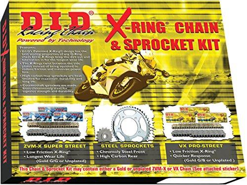 DID X-Ring Chain Sprocket Kit Honda CBR 600 RR 2003-06 DKH-002