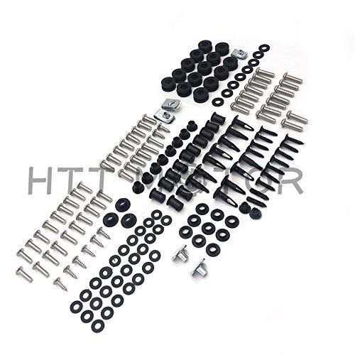 SMT MOTO- For Honda CBR600RR 03-04 Complete Stainless Steel Body Screw Fairing Bolt Kit US