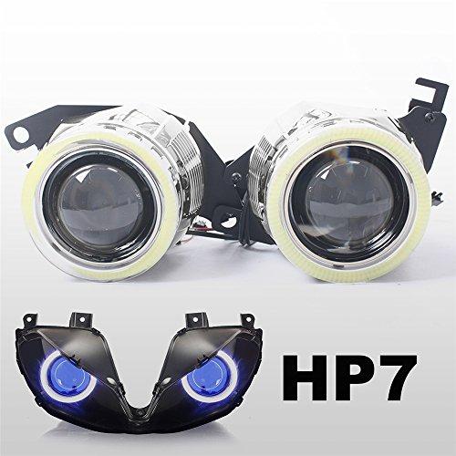 KT Tailor-Made HID Projector Kit HP7 for Triumph Daytona 675675R 2013-2017 Blue Demon Eye