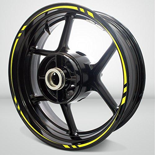Swift Outer Rim Liner Stripe for Kawasaki ZX2R Fluorescent Yellow