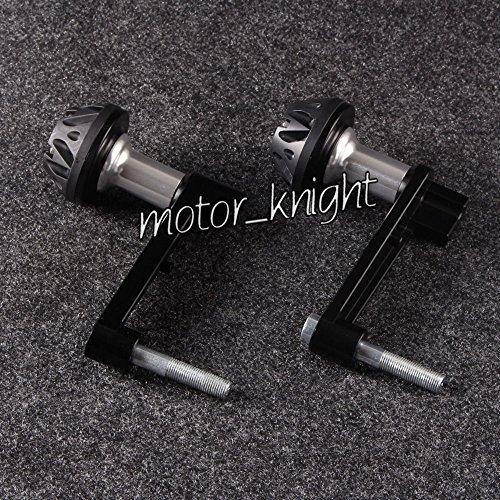 Decal Story Engine Cover Crash Pad Frame Protector Slider For Honda 08-12 CBR1000RR Black