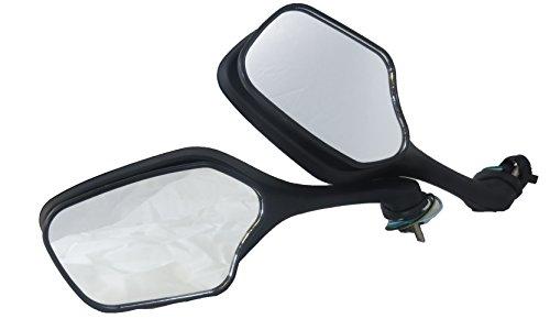 Tornado Brand Replacement Mirror Set For 2008-2013 Honda CBR1000RR Black