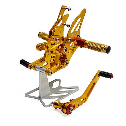 CBR1000RR Rearsets CNC Adjustable Footpegs Rear Sets for Honda CBR 1000RR 2008-2014