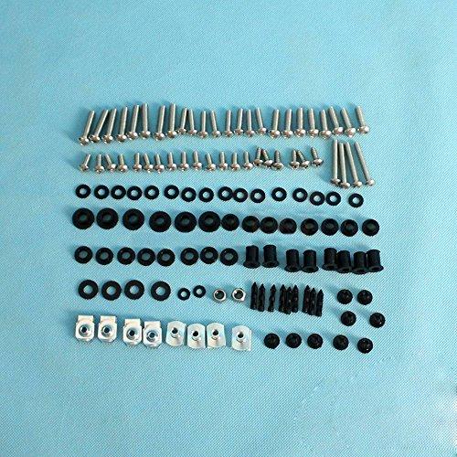 NBX- Complete Fairing Bolt 119 Hardware Kit Screw Washer For Honda CBR1000RR 08-12