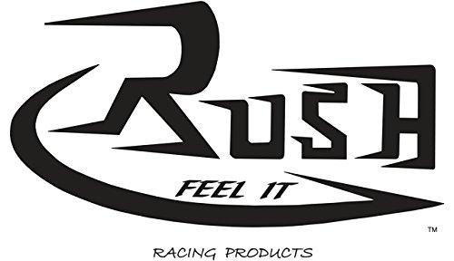 Rush Exhaust Fs Slash Tip Black M109r M109r 06-15 Mufflers  Slip-ons s1110sl-175 Blk