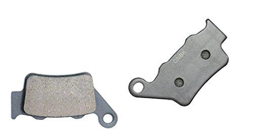 CNBK Rear Brake Pad Semi Metallic fit ALFER Dirt Bike VRE125 VRE 125 4-stroke 00up 2000up 1 Pair2 Pads
