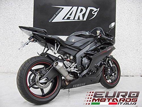 Yamaha R6 2006-2014 Zard Exhaust Cone Racing Slipon Silencer Only 19kg
