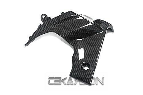 Tekarbon Carbon Fiber Side Fairing Panels LH for Suzuki GSXR 1000 2009-2015 2x2 Twill Weave