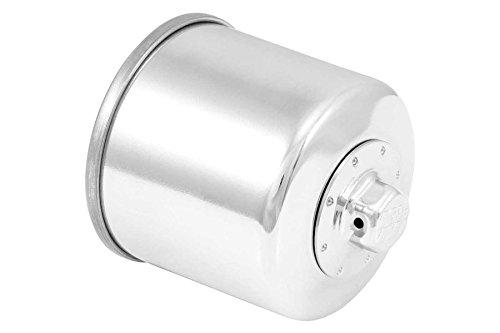 K N oil filter Chrome KN-138C INTRUDER1800 06-12 BOULEVARD M109R 06-11 INTRUDER1500LC 98-09 GSX1400 01-07 B-KING 08-09 GSX1300R HAYABUSA  99-13 BANDIT1250  S 07-12
