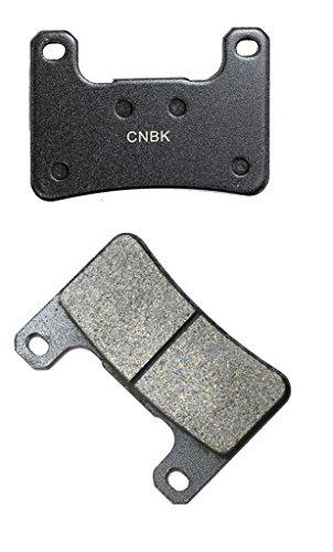 CNBK Front Left Brake Pad Resin fit for SUZUKI Street Bike GSX-R1000 GSXR1000 GSXR GSX R GSX-R 1000 K9 09 10 11 2009 2010 2011 1 Pair2 Pads