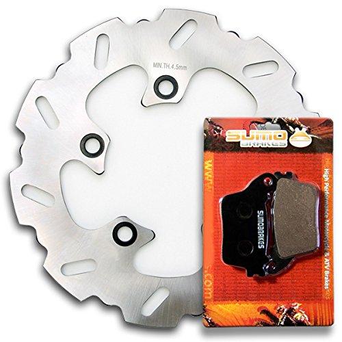 Sumo - Suzuki Race Proven 420 Stainless Steel Brake Disc Rotor  Pads Combo for GSXR 600 L GSXR 750 L 11-16  GSXR 1000 K9  L 09-16  GSXR 1000 ZL3 2013  GSXR 1000 AL5 ABS 2015 Street Bike