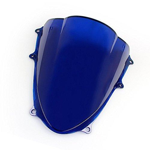 Windshield WindScreen Double Bubble For Suzuki GSXR1000 K9 2009-2017 Blue