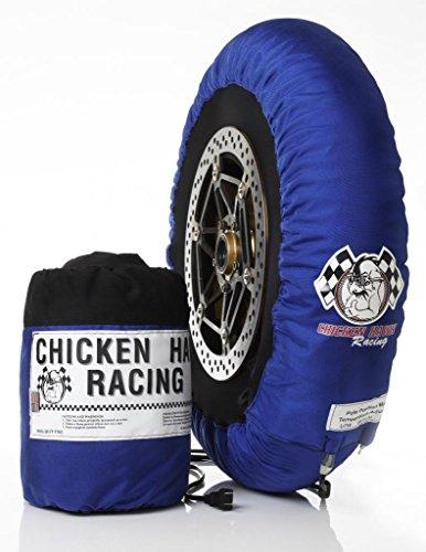 Chicken Hawk Racing SBK-PP - Pole Position - 3 Temperature Model Motorcycle Tire Warmers - Front Rear Set - Rear 180-205 Front 120