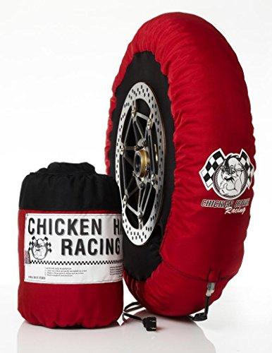 Chicken Hawk Racing SBK-STD - Standard - Single Temperature Model Motorcycle Tire Warmers - Front Rear Set - Rear 180-205 Front 120