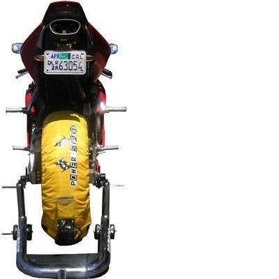 Powerstands Tire Warmers - Yellow TW-SBK-YLW