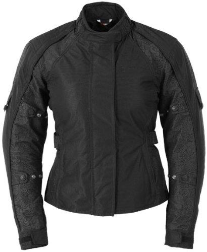 Fieldsheer Lena Womens Waterproof Reflective Motorcycle Jacket (white & Black) - Frontiercycle (free U.s. Shipping