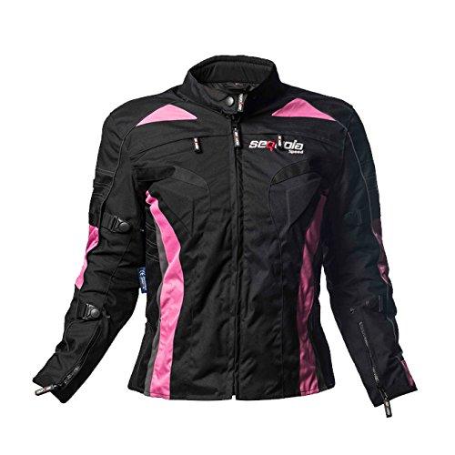 Sequoia Speed Sr-2032l Euphoria Ladies Motorcycle Jacket Protection Level 3 Pink - Large