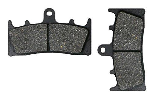 CNBK Front Brake Pads Semi Met fit for Jaybrake Street Bike 4 piston caliper 1 Pair2 Pads