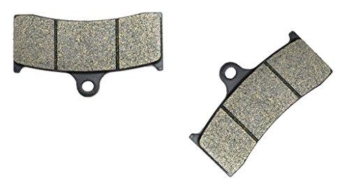 CNBK Front Brake Shoe Pads Semi-Metallic fit for Jaybrake Street Bike J-Four 300-44 4Piston 1 Pair2 Pads