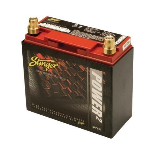 JAYBRAKE Stinger Spp680 680-Amp Battery With Metal Case