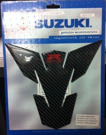 2011-2016 SUZUKI GSXR750 GSXR600 CARBON FIBER TANK PAD- BLACK 990A0-64070