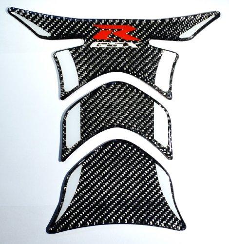 Suzuki GSX-R GSXR 1000 600 750 Carbon Fiber Motorcycle Tank Protector Pad sticker trim