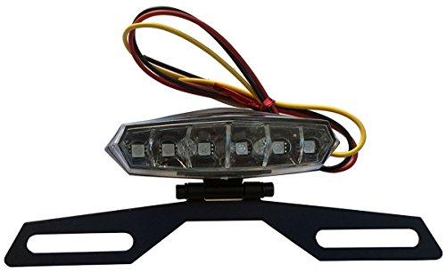 6 LED License Plate Holder Light Lamp for 2002 Honda Shadow ACE 750 VT750CD Deluxe