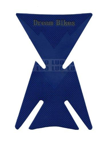 Blue Motorbike Racing 3d Pad Sticker Rubber Decal Fiber Gas Tank Protector For Aprilia Falco Sl1000 2000 2001