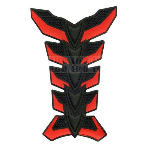 Red Skeleton Motorbike Racing 3d Pad Sticker Rubber Decal Fiber Gas Tank Protector For Aprilia Falco Sl1000 2000
